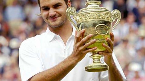 1. 2003 Wimbledon -- A famous first