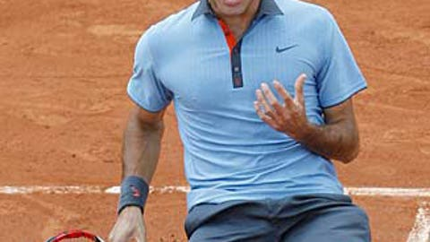 14. 2009 French Open -- Career Slam complete