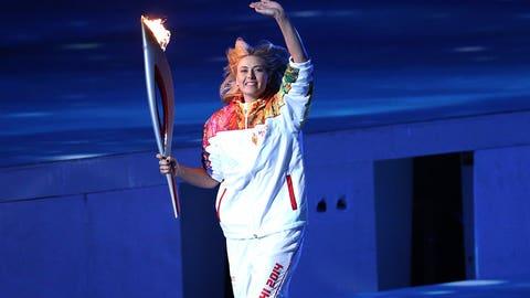 Feb. 7: Torch bearer