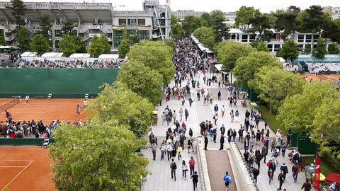 Day 1: Welcome to Roland Garros