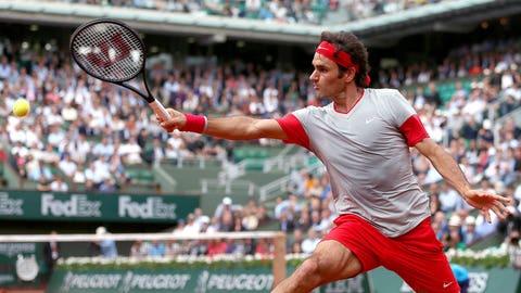 Day 6: Federer's fancy