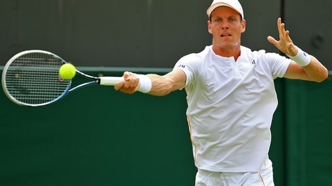 Day 1: Slight slip for Berdych