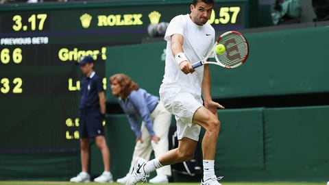 Day 3: Dimitrov on a roll