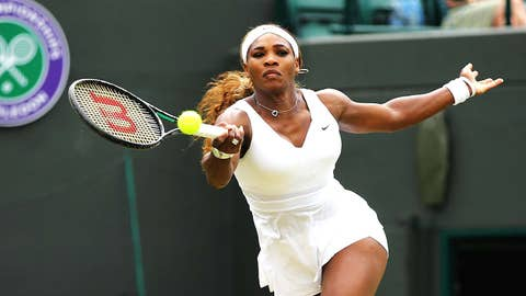 Day 4: Serena in control