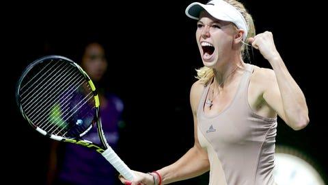 Women's tennis (active): Caroline Wozniacki