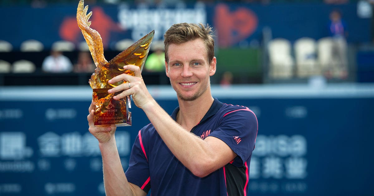 size 40 0987d 3e857 Berdych beats Garcia-Lopez to win first ATP Tour title of season  FOX  Sports