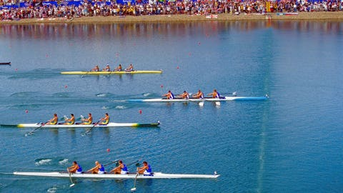 16. Rowing