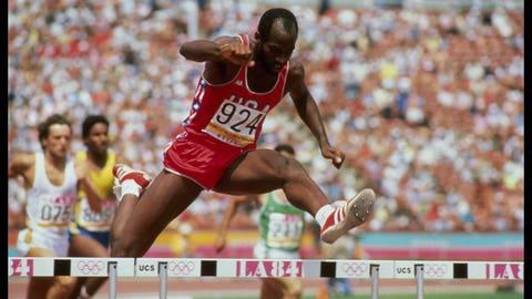 Edwin Moses (1976-1988); hurdles; 2 G, 1 B