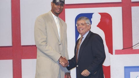 Tim Duncan | 1997 NBA Draft | 1st round | 1st overall pick