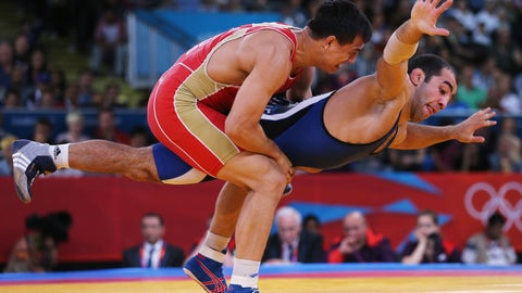 28. Wrestling