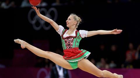 3. Rhythmic Gymnastics