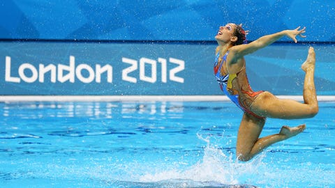 5. Synchronized Swimming