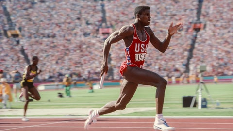 Carl Lewis (1984-1996); track and field; 9 G, 1 S