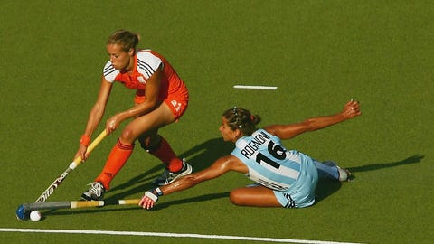 7. Field Hockey