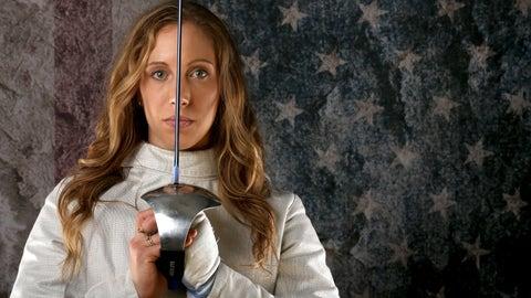 Mariel Zagunis (2004-2016); fencing; 2 G, 1 B