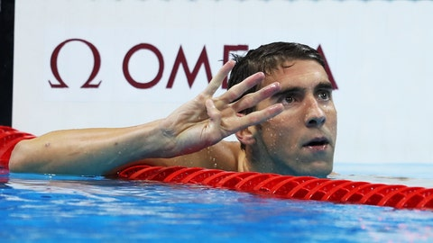 Phelps was phantastic for the phinal time