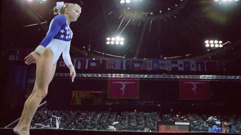 Shannon Miller (1992-1996); gymnastics; 2 G, 2 S, 3 B