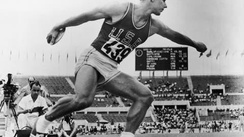 Al Oerter (1956-1968); discus; 4 G