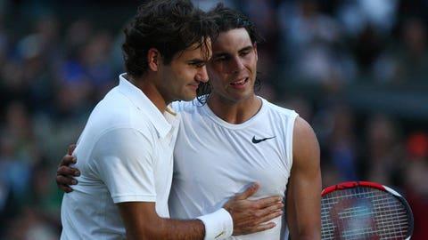 Roger Federer vs. Rafael Nadal