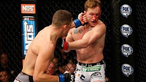 Maynard couldn't escape Diaz's pressure