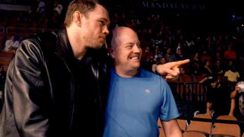 Forrest Griffin and a fan