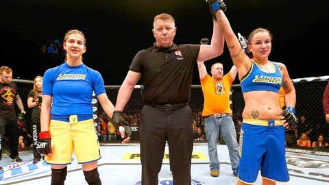 Pennington dominated her former housemate Modafferi