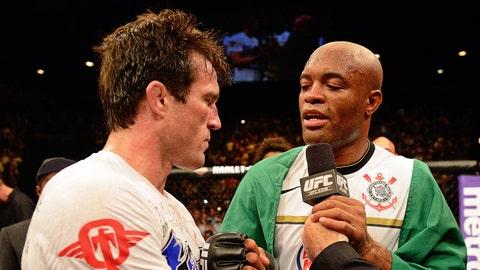 Silva vs. Sonnen was the biggest rivalry in the MMA world