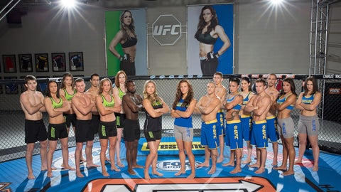The Ultimate Fighter: Team Rousey vs Team Tate