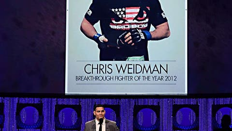 2012 Breakthrough Fighter Of The Year