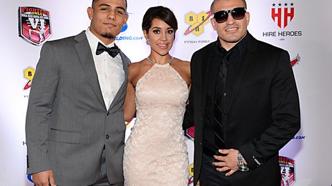 Danny Morales Jr., Andrea Calle and JC Llamas