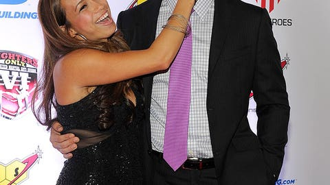 Marivi and Chris Weidman