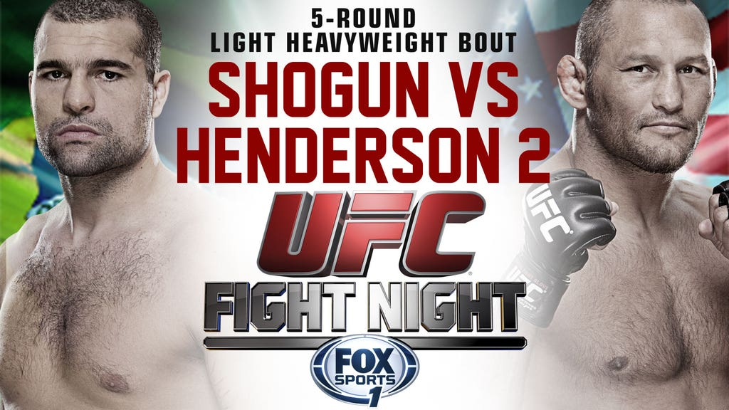 UFC Fight Night: Shogun vs. He...