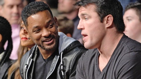 Will Smith and Chael Sonnen