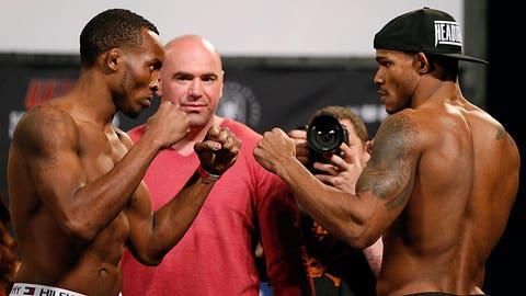 UFC 171 Weigh-In