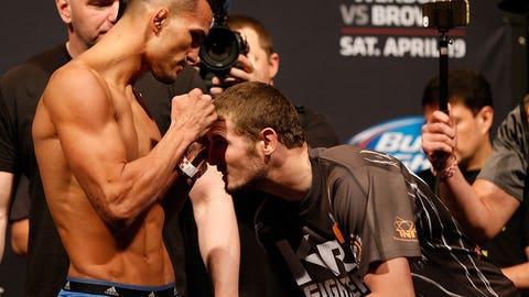 UFC on FOX: Werdum vs. Browne weigh-in