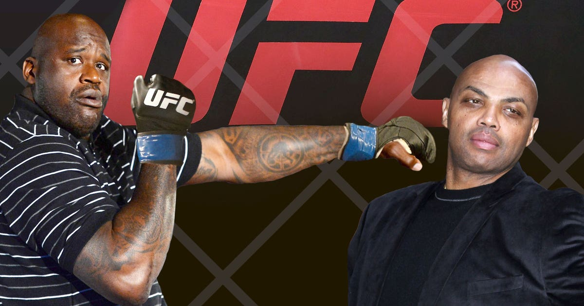 shaquille oneal charles barkley mma fight wont  happen fox sports