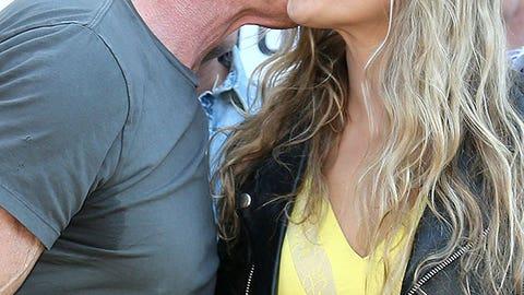 Arnold Schwarzenegger and Ronda Rousey
