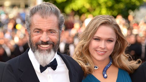 Ronda Rousey & Mel Gibson