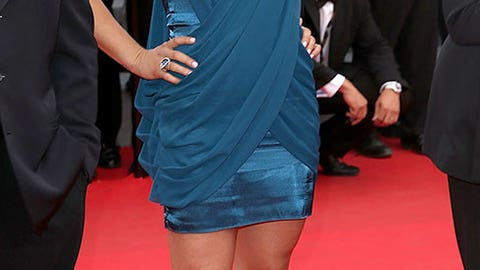 Ronda Rousey lights it up on the red carpet