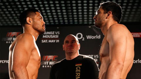 UFC Fight Night Weigh-In Berlin