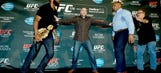 Jon Jones, Daniel Cormier get into brawl at media day in Las Vegas (UPDATE)