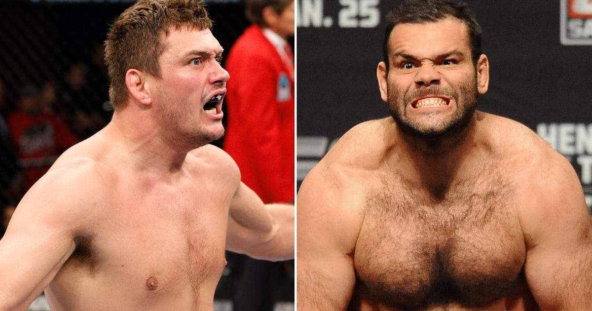 Heavyweights Matt Mitrione Gabriel Gonzaga To Meet On Fox