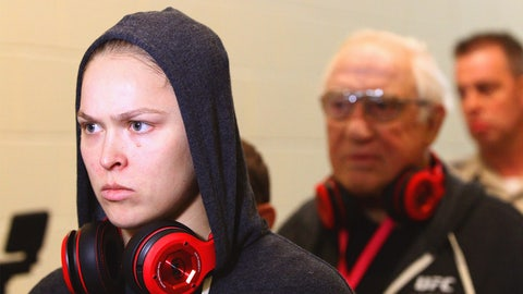 That Ronda Rousey doesn't give a $^#&