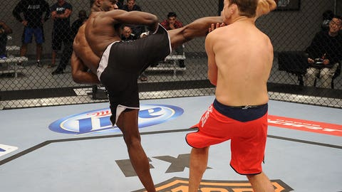 Uriah Hall brings the danger
