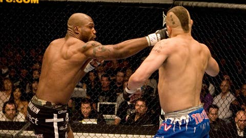 Rampage knocks out Chuck Liddell