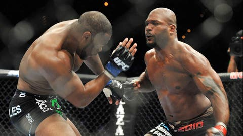 Rampage finally faces Evans