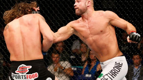 Cathal Pendred takes another swing
