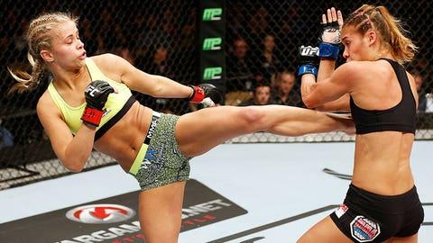 Paige VanZant vs. Kailin Curran at UFC Fight Night in Austin