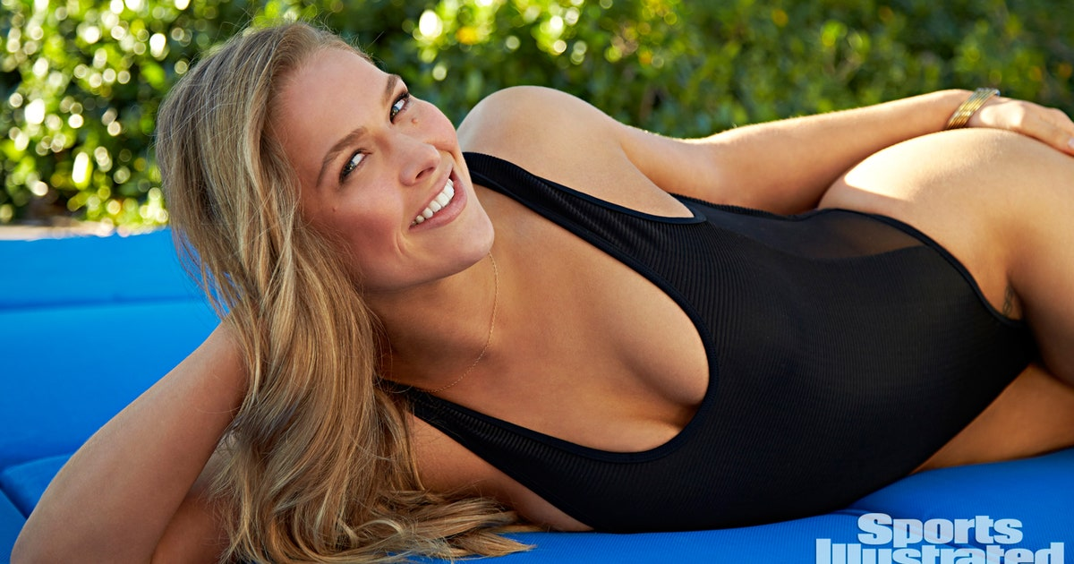 Behind The Scenes At Ronda Rousey S Sports Illustrated
