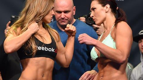 Ronda Rousey vs. Cat Zingano